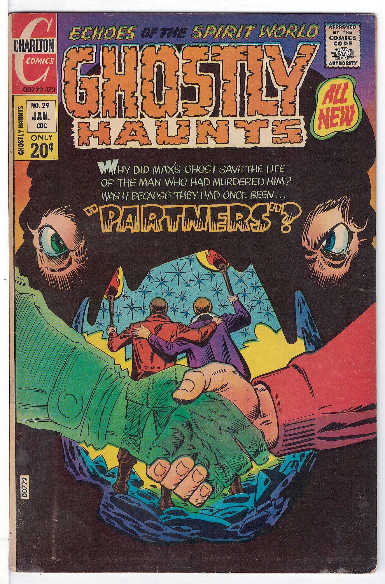 Cover of Ghostly Haunts (Vol 1) #29. One of 250,000 Vintage American Comics on sale from Krypton!