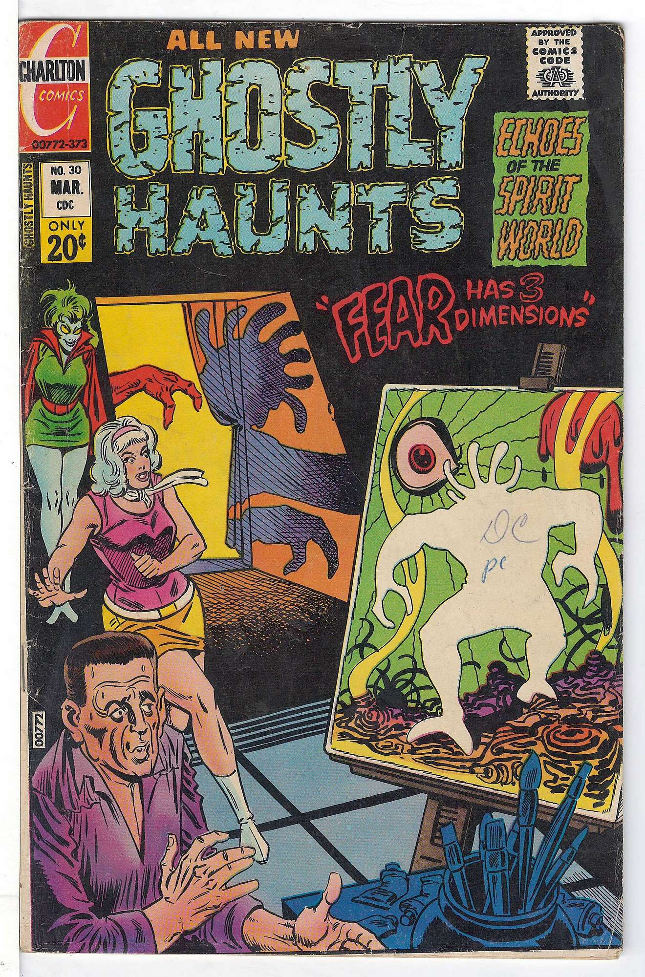 Cover of Ghostly Haunts (Vol 1) #30. One of 250,000 Vintage American Comics on sale from Krypton!