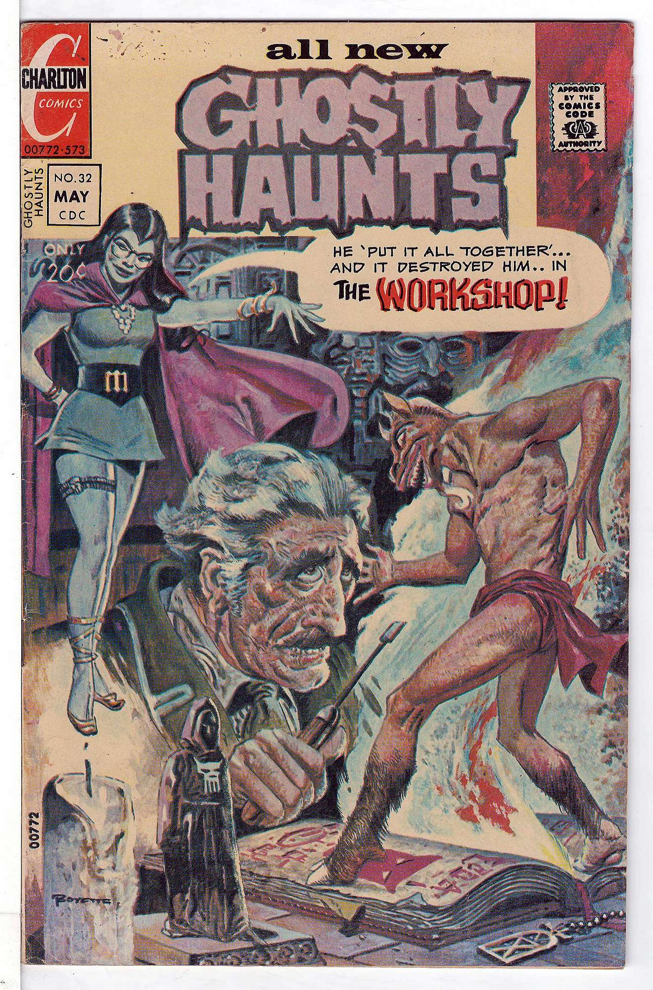 Cover of Ghostly Haunts (Vol 1) #32. One of 250,000 Vintage American Comics on sale from Krypton!