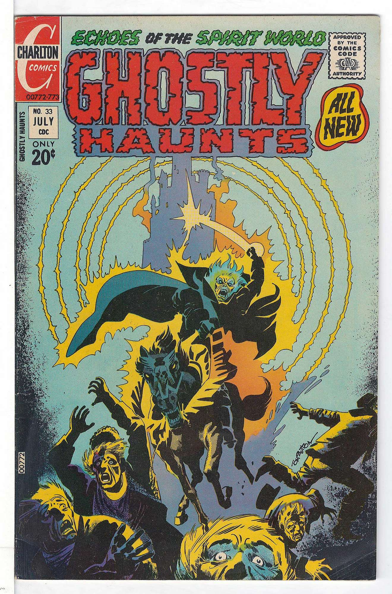 Cover of Ghostly Haunts (Vol 1) #33. One of 250,000 Vintage American Comics on sale from Krypton!