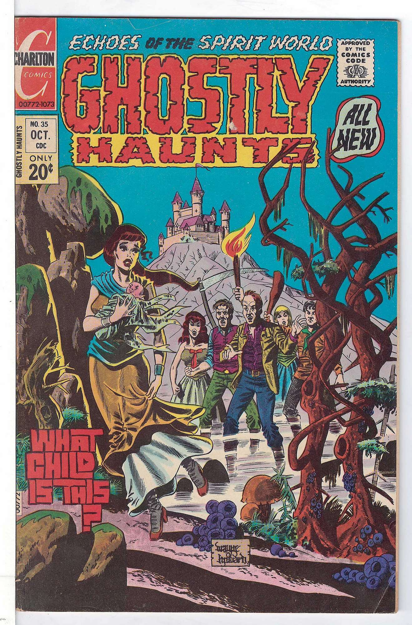 Cover of Ghostly Haunts (Vol 1) #35. One of 250,000 Vintage American Comics on sale from Krypton!