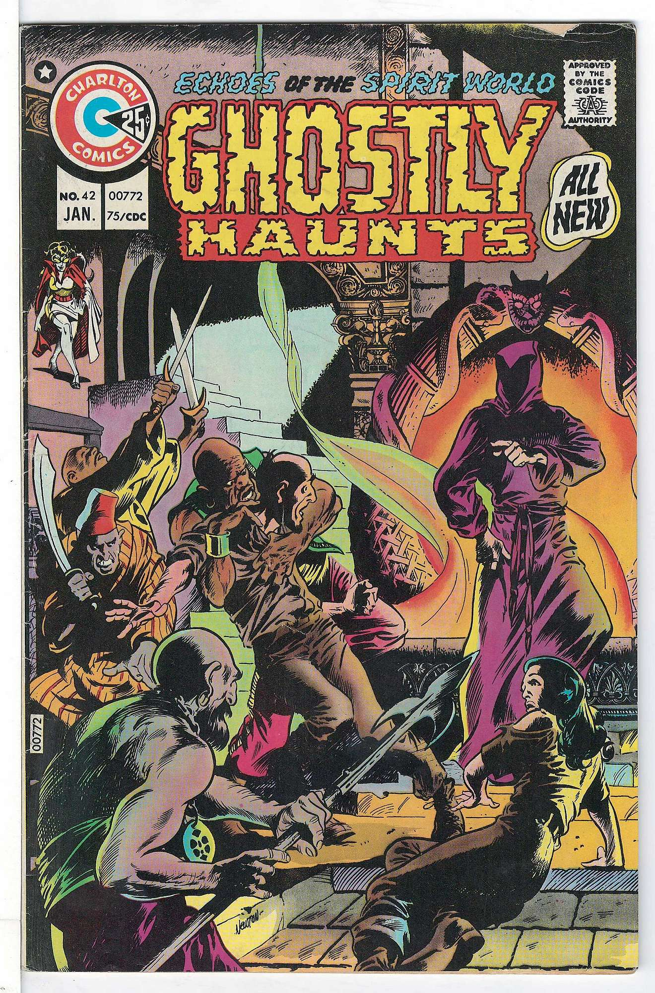 Cover of Ghostly Haunts (Vol 1) #42. One of 250,000 Vintage American Comics on sale from Krypton!