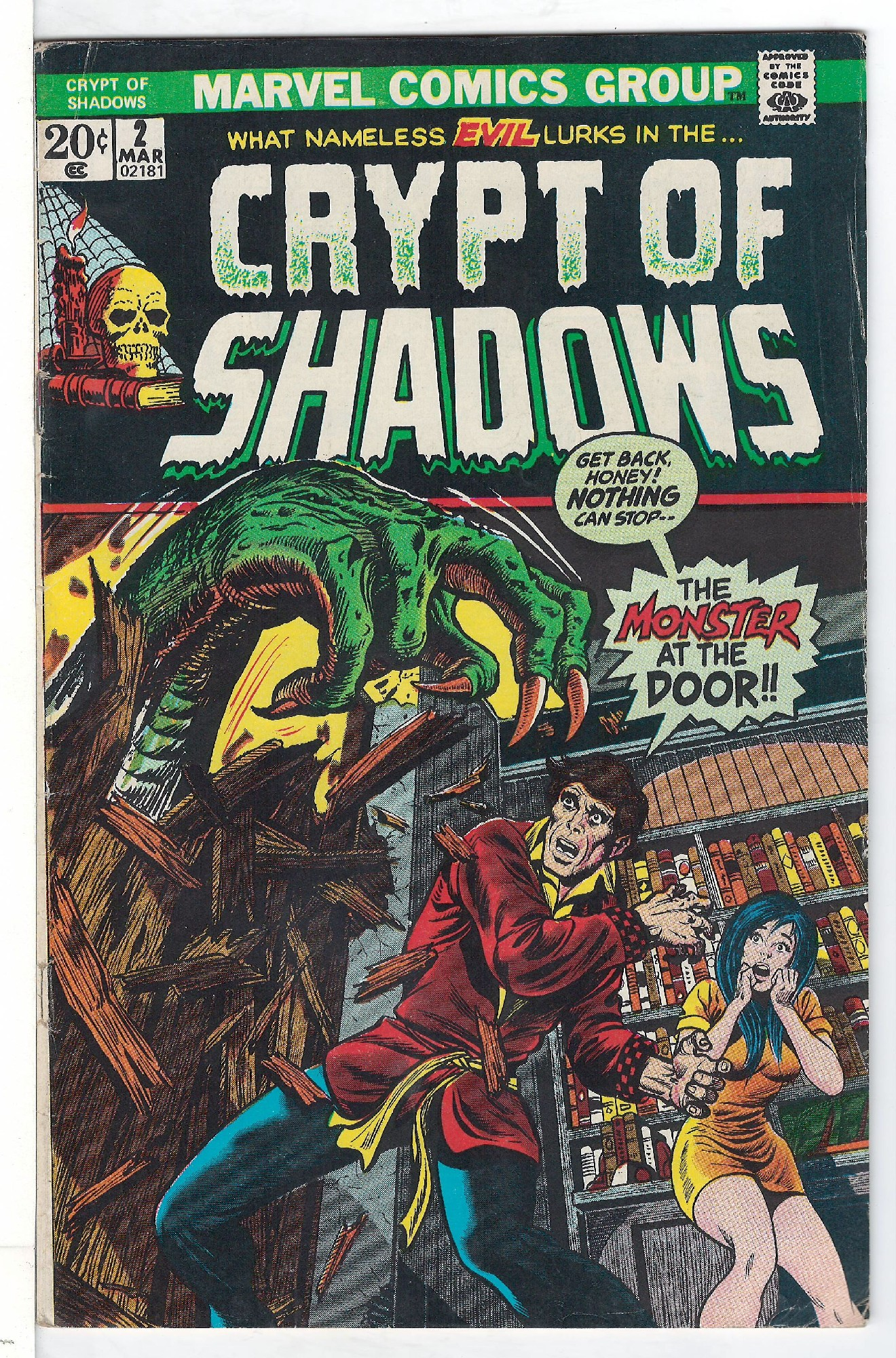 Cover of Crypt of Shadows (Vol 1) #2. One of 250,000 Vintage American Comics on sale from Krypton!
