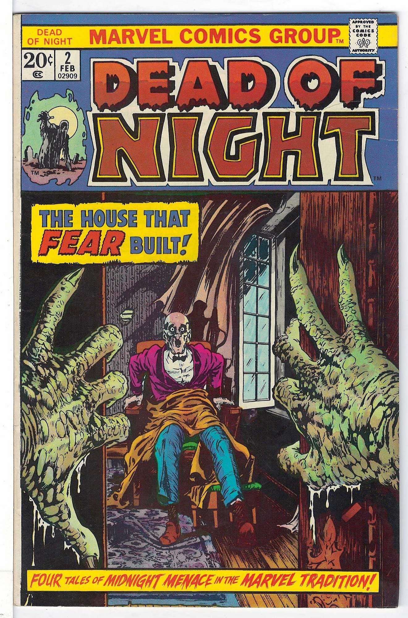 Cover of Dead of Night (Vol 1) #2. One of 250,000 Vintage American Comics on sale from Krypton!