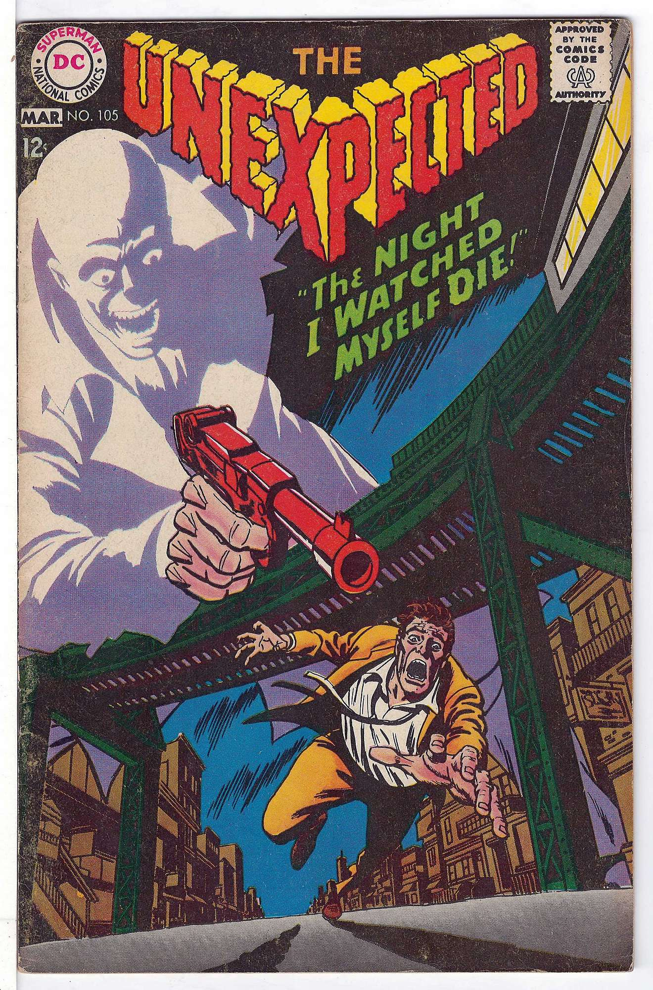 Cover of Unexpected (Vol 1) #105. One of 250,000 Vintage American Comics on sale from Krypton!