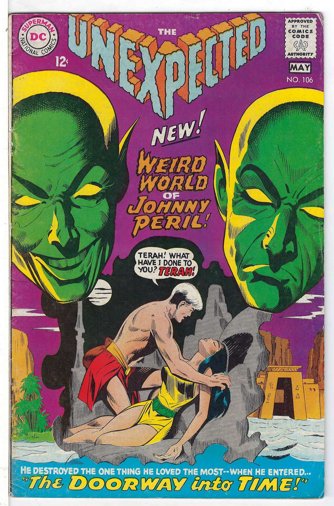 Cover of Unexpected (Vol 1) #106. One of 250,000 Vintage American Comics on sale from Krypton!