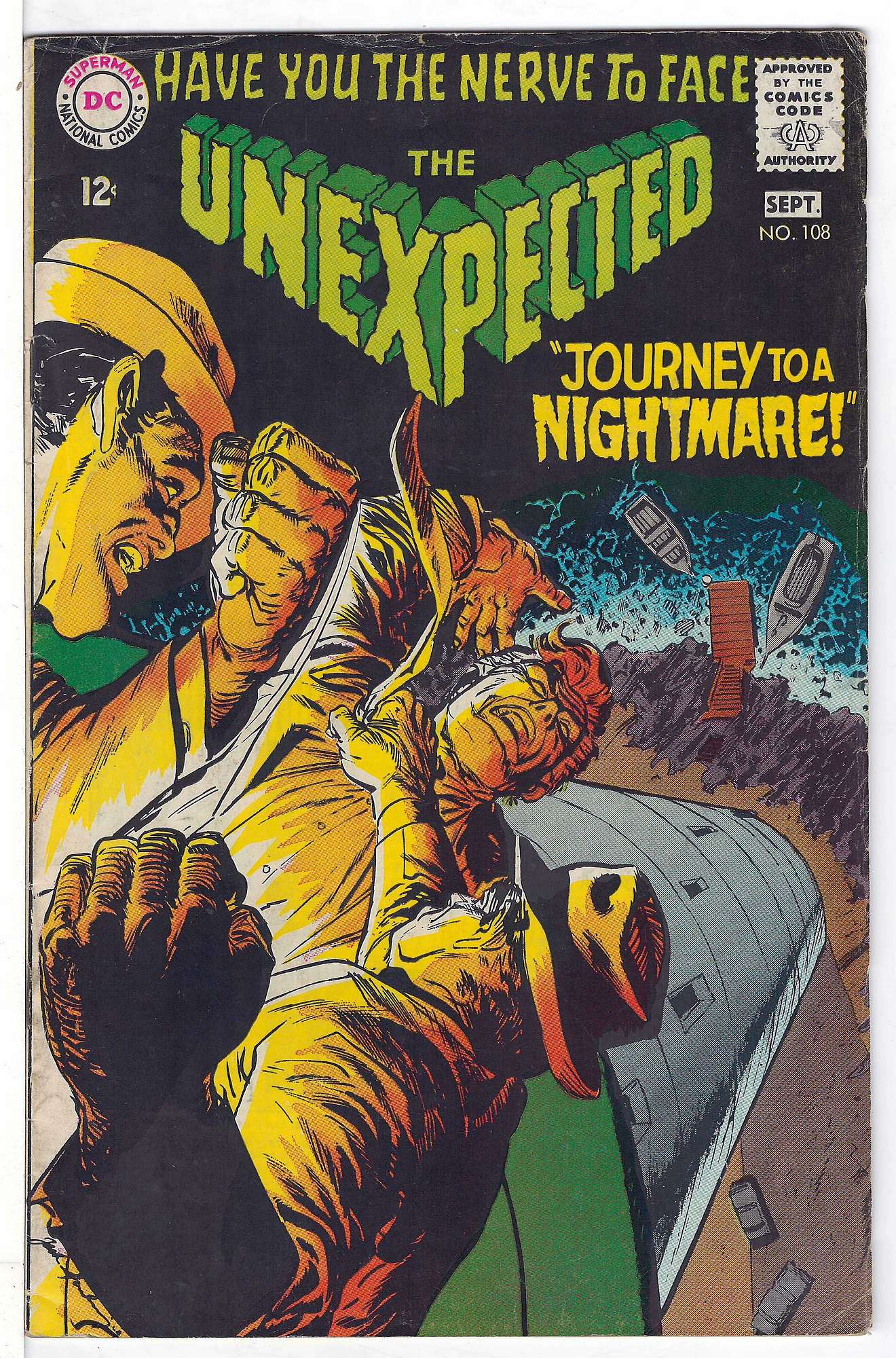 Cover of Unexpected (Vol 1) #108. One of 250,000 Vintage American Comics on sale from Krypton!