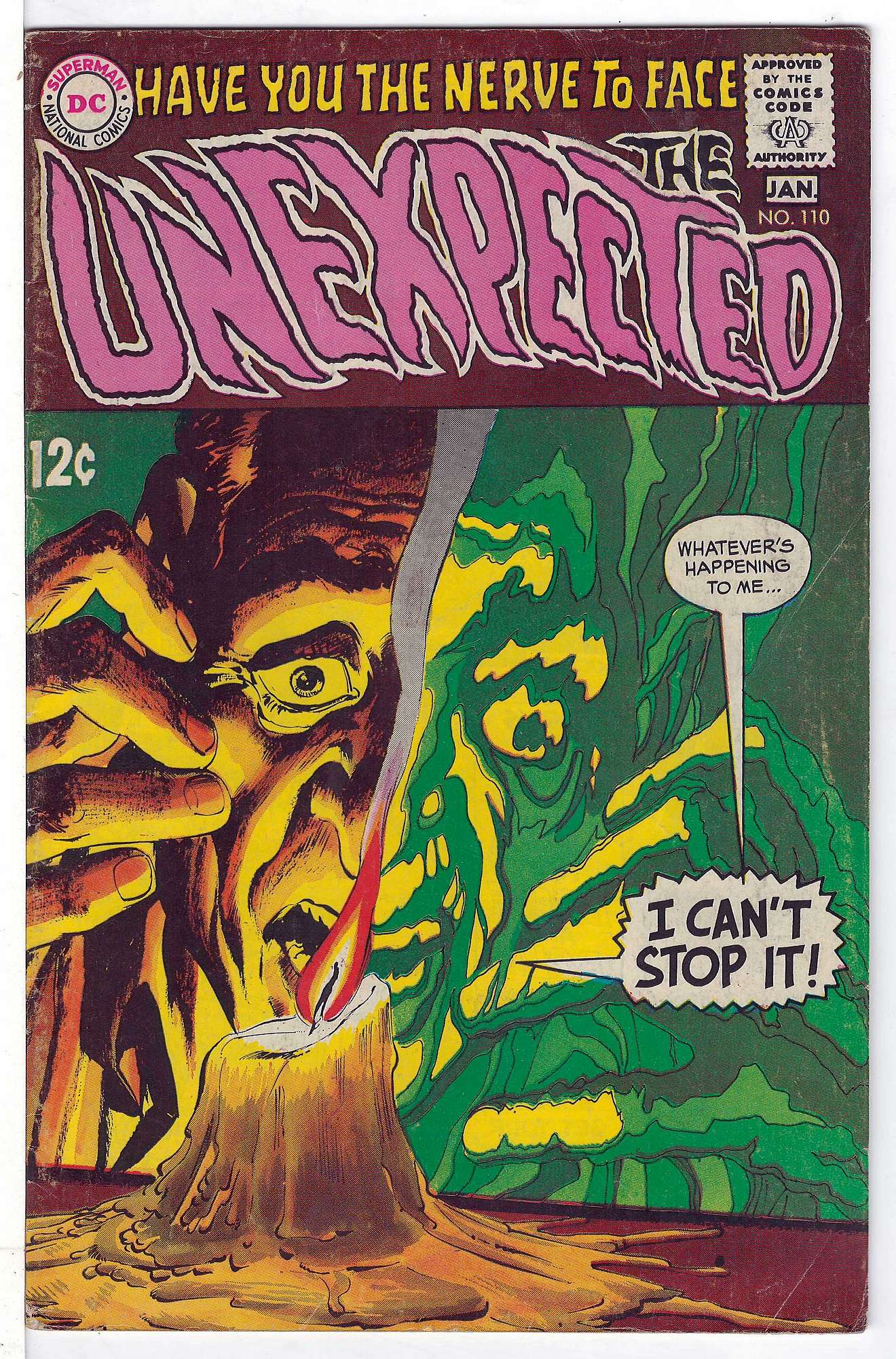 Cover of Unexpected (Vol 1) #110. One of 250,000 Vintage American Comics on sale from Krypton!