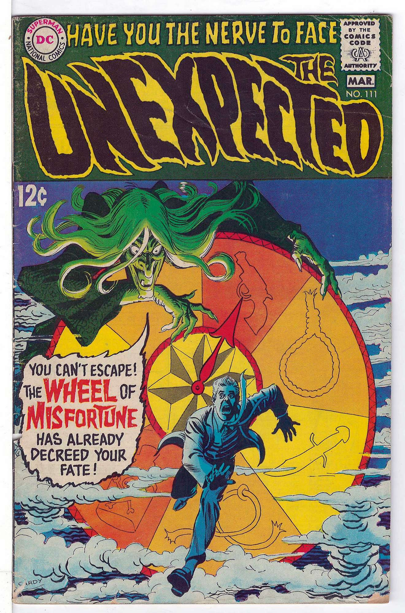 Cover of Unexpected (Vol 1) #111. One of 250,000 Vintage American Comics on sale from Krypton!