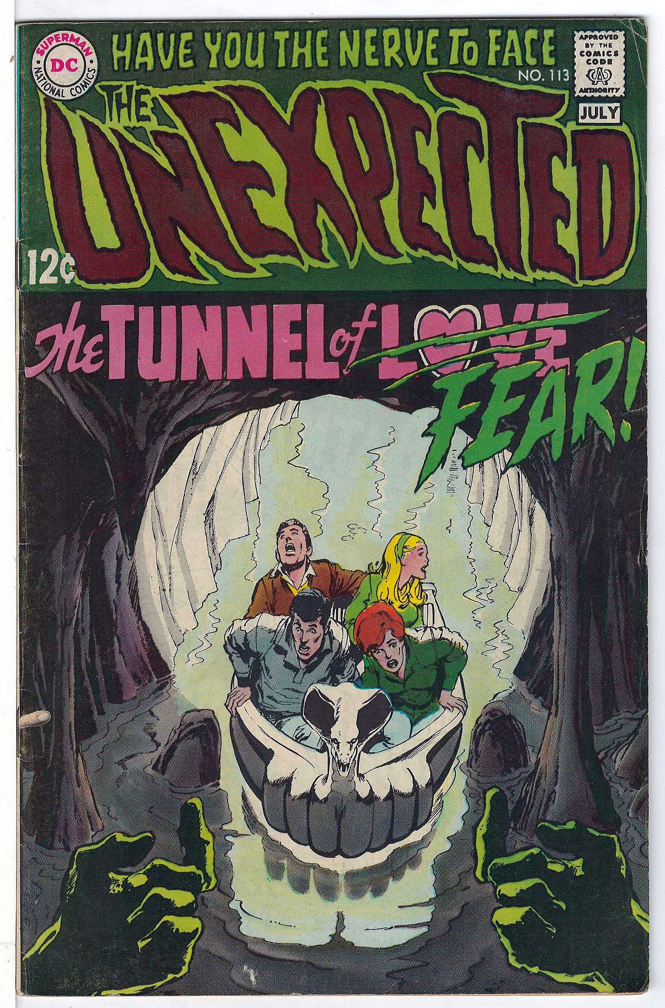 Cover of Unexpected (Vol 1) #113. One of 250,000 Vintage American Comics on sale from Krypton!