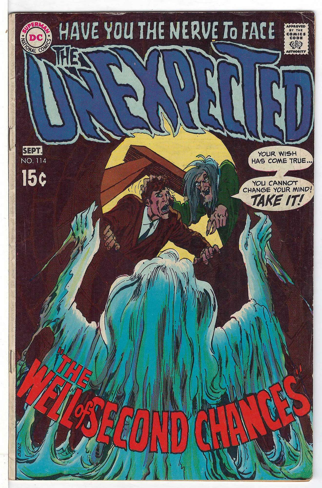 Cover of Unexpected (Vol 1) #114. One of 250,000 Vintage American Comics on sale from Krypton!