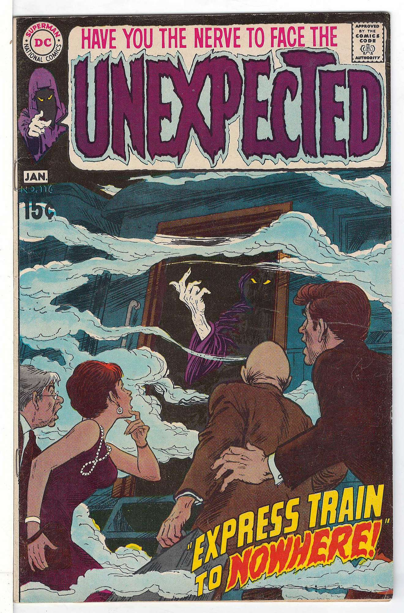Cover of Unexpected (Vol 1) #116. One of 250,000 Vintage American Comics on sale from Krypton!