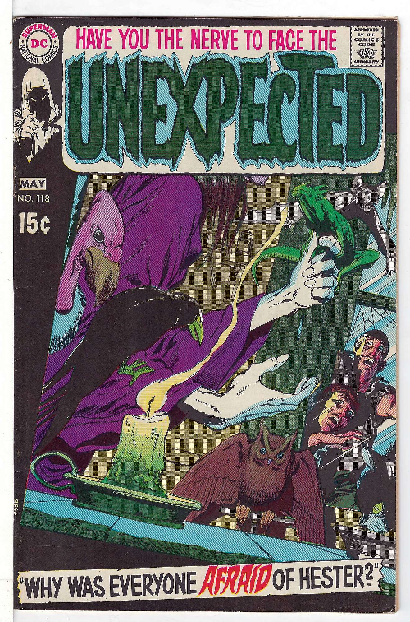 Cover of Unexpected (Vol 1) #118. One of 250,000 Vintage American Comics on sale from Krypton!