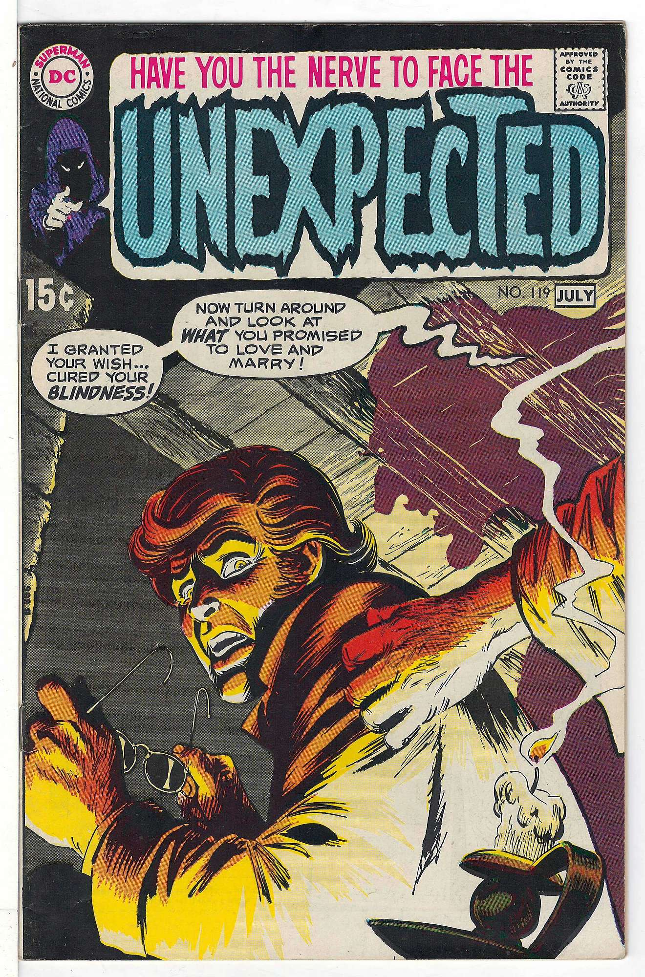 Cover of Unexpected (Vol 1) #119. One of 250,000 Vintage American Comics on sale from Krypton!