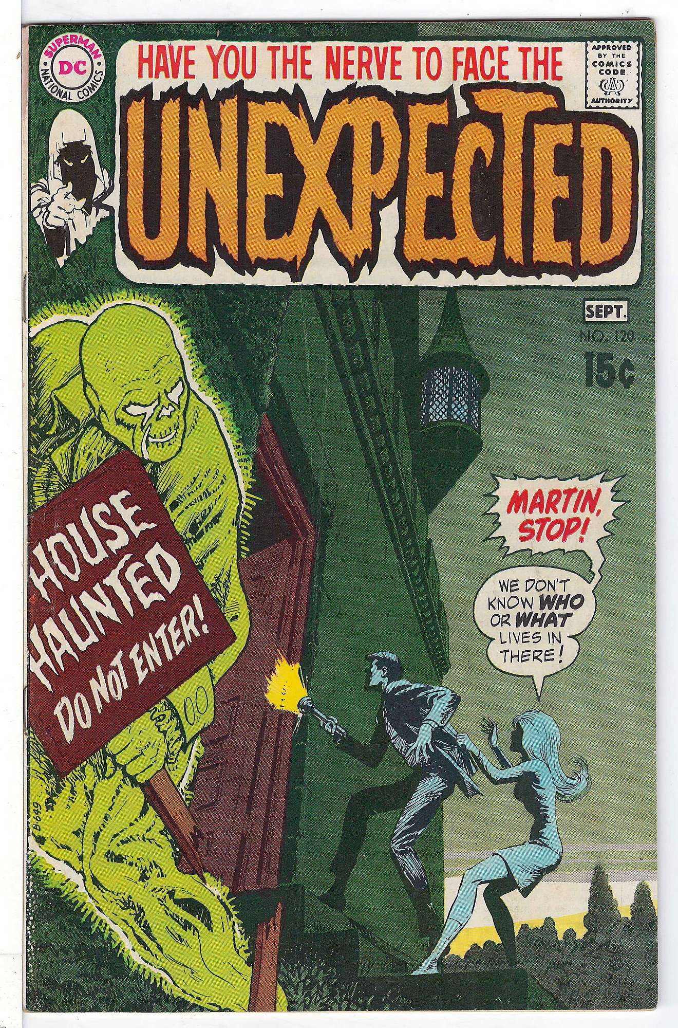 Cover of Unexpected (Vol 1) #120. One of 250,000 Vintage American Comics on sale from Krypton!