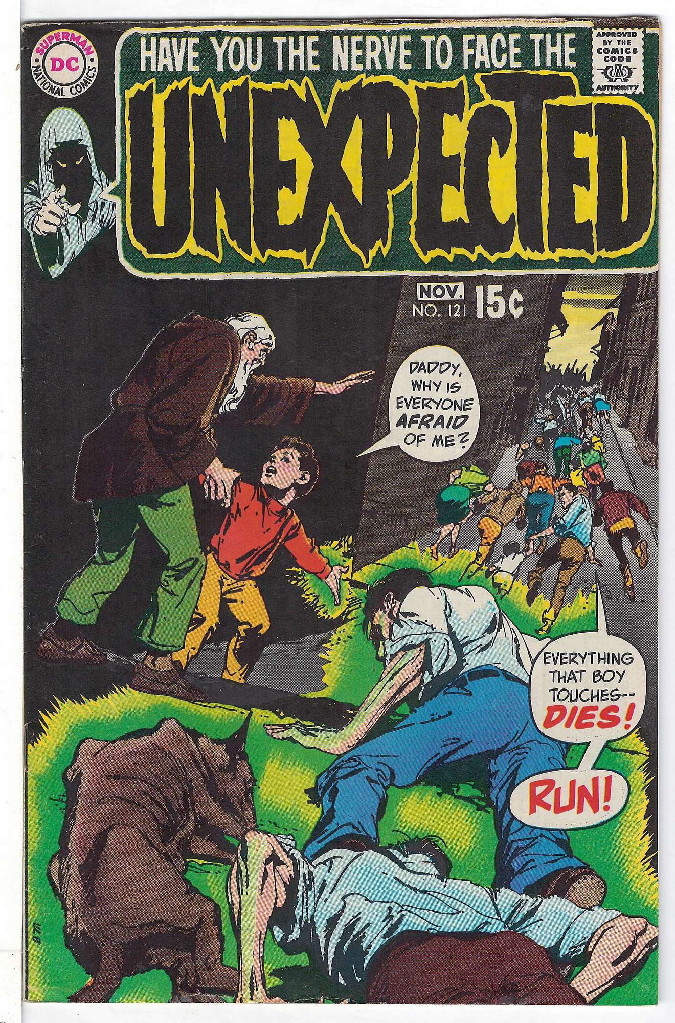 Cover of Unexpected (Vol 1) #121. One of 250,000 Vintage American Comics on sale from Krypton!