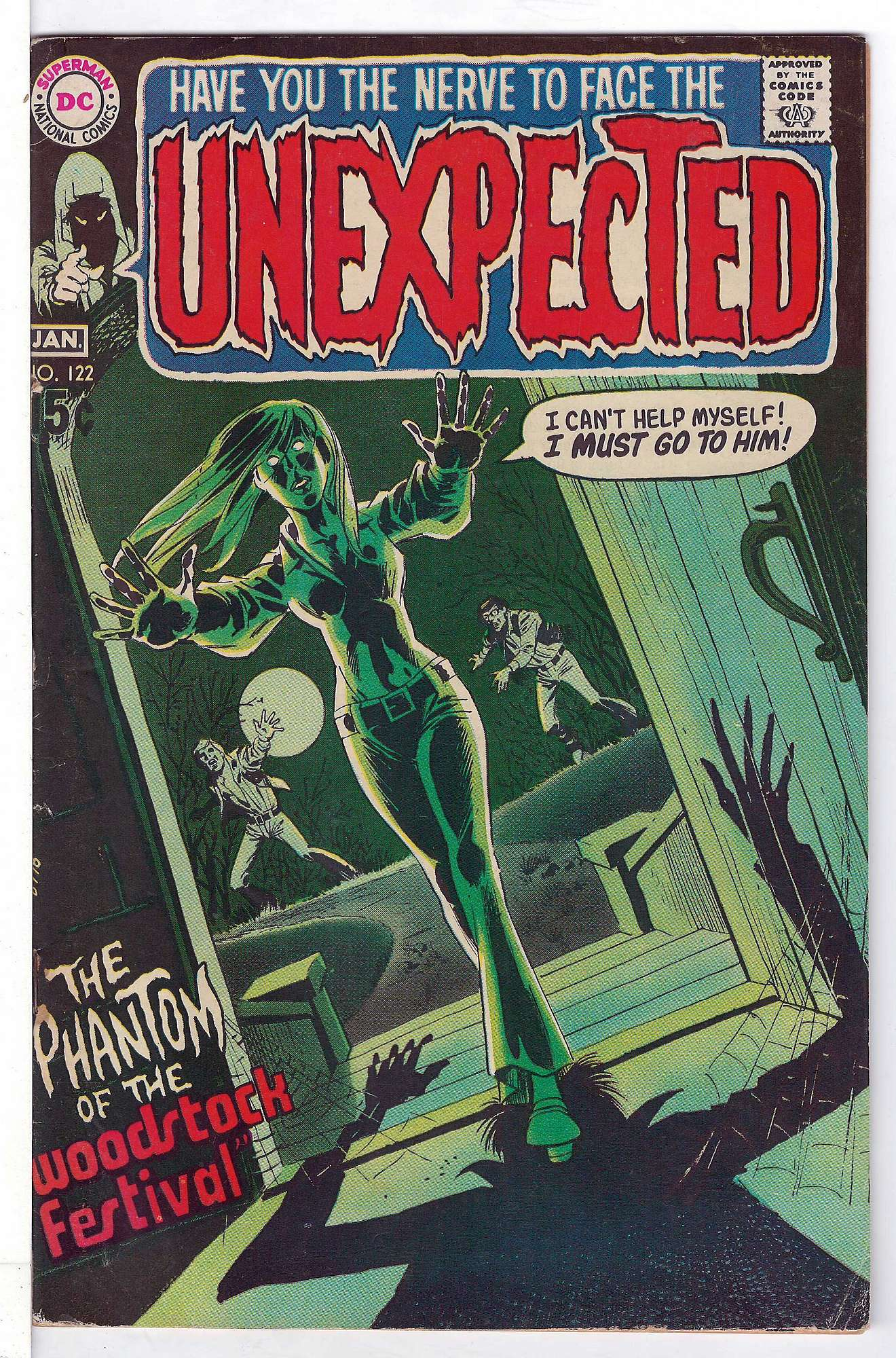 Cover of Unexpected (Vol 1) #122. One of 250,000 Vintage American Comics on sale from Krypton!