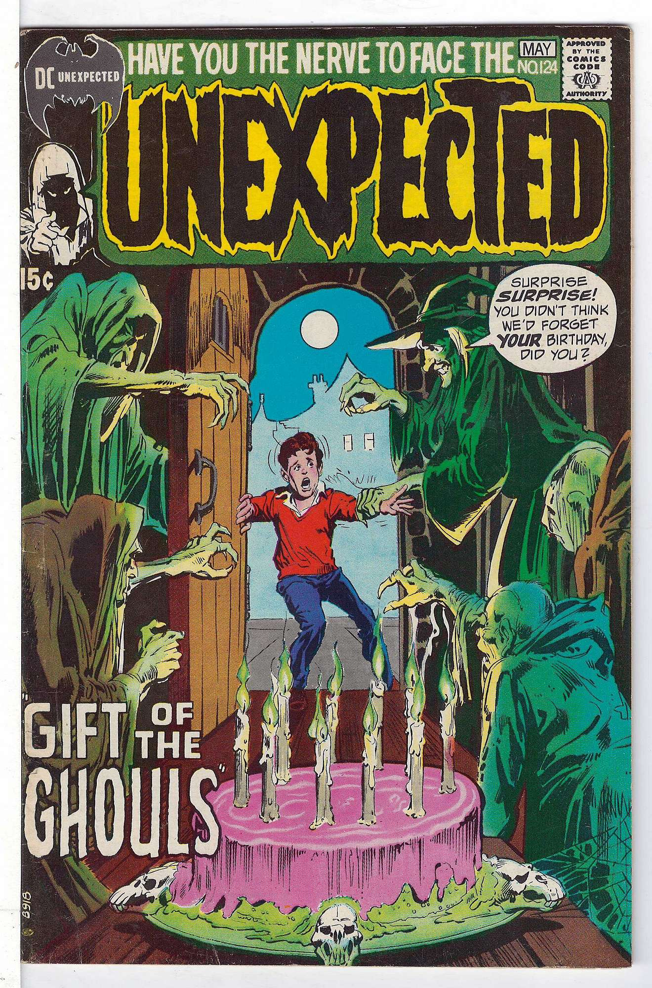 Cover of Unexpected (Vol 1) #124. One of 250,000 Vintage American Comics on sale from Krypton!