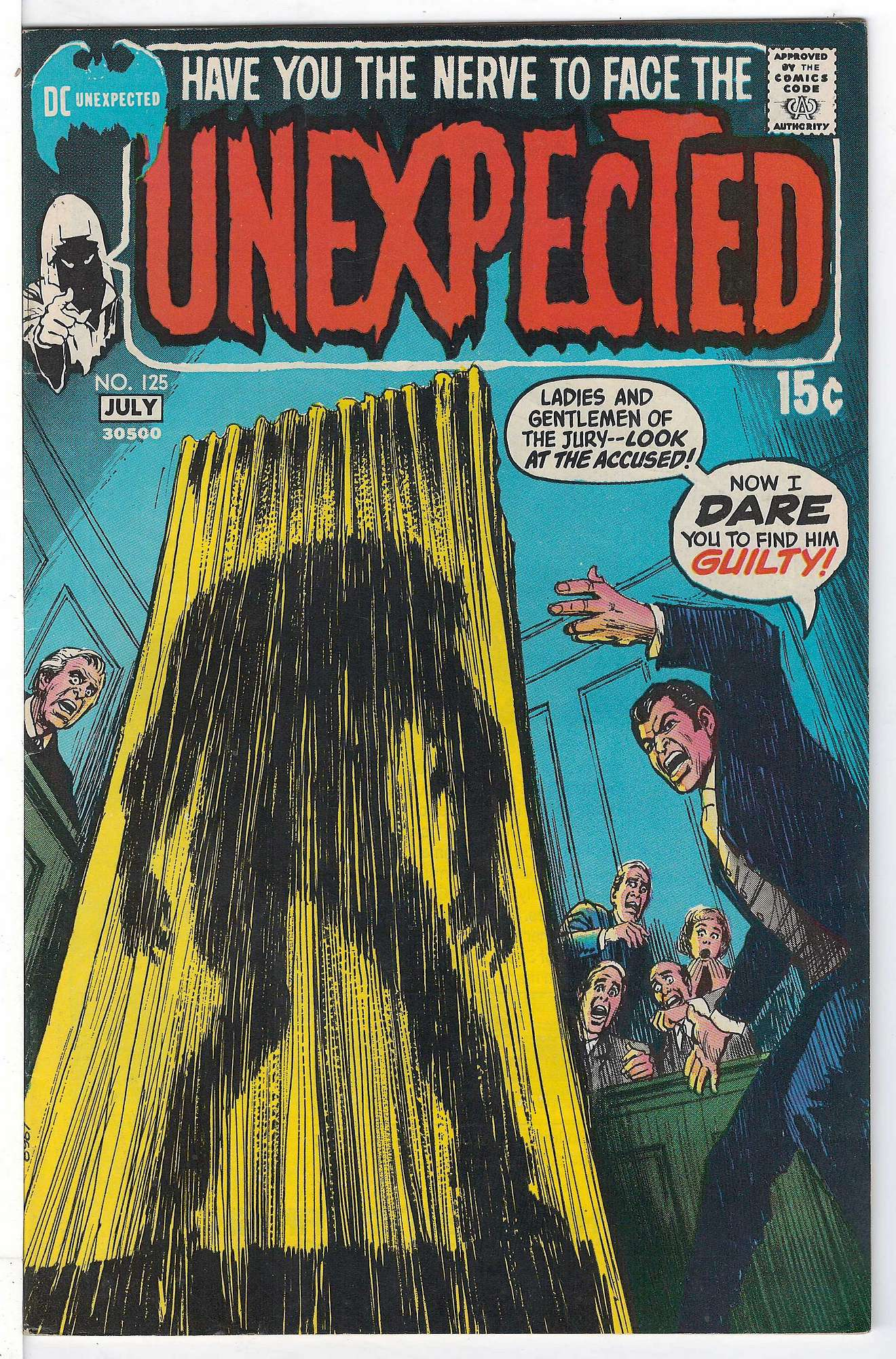 Cover of Unexpected (Vol 1) #125. One of 250,000 Vintage American Comics on sale from Krypton!