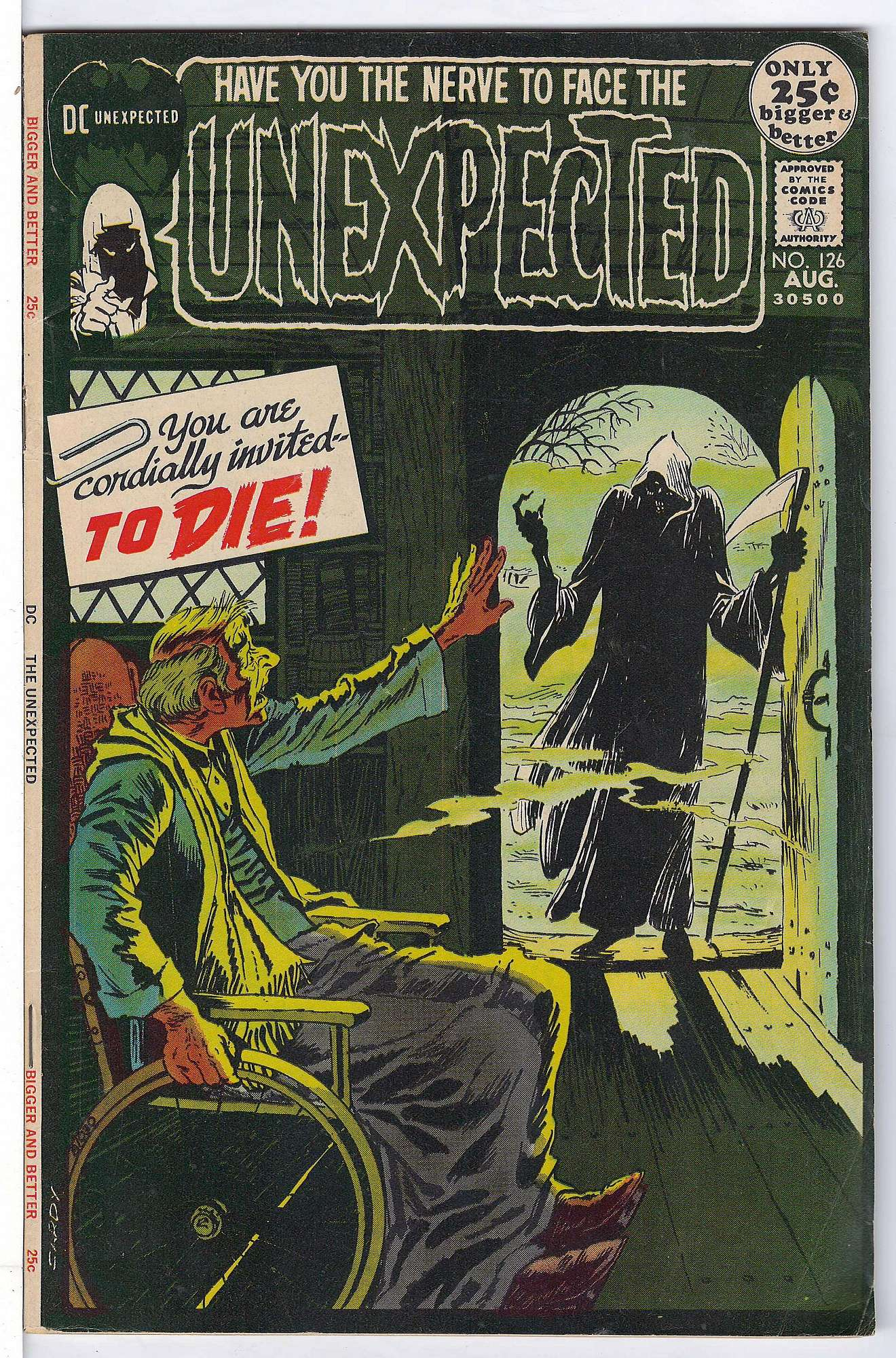 Cover of Unexpected (Vol 1) #126. One of 250,000 Vintage American Comics on sale from Krypton!