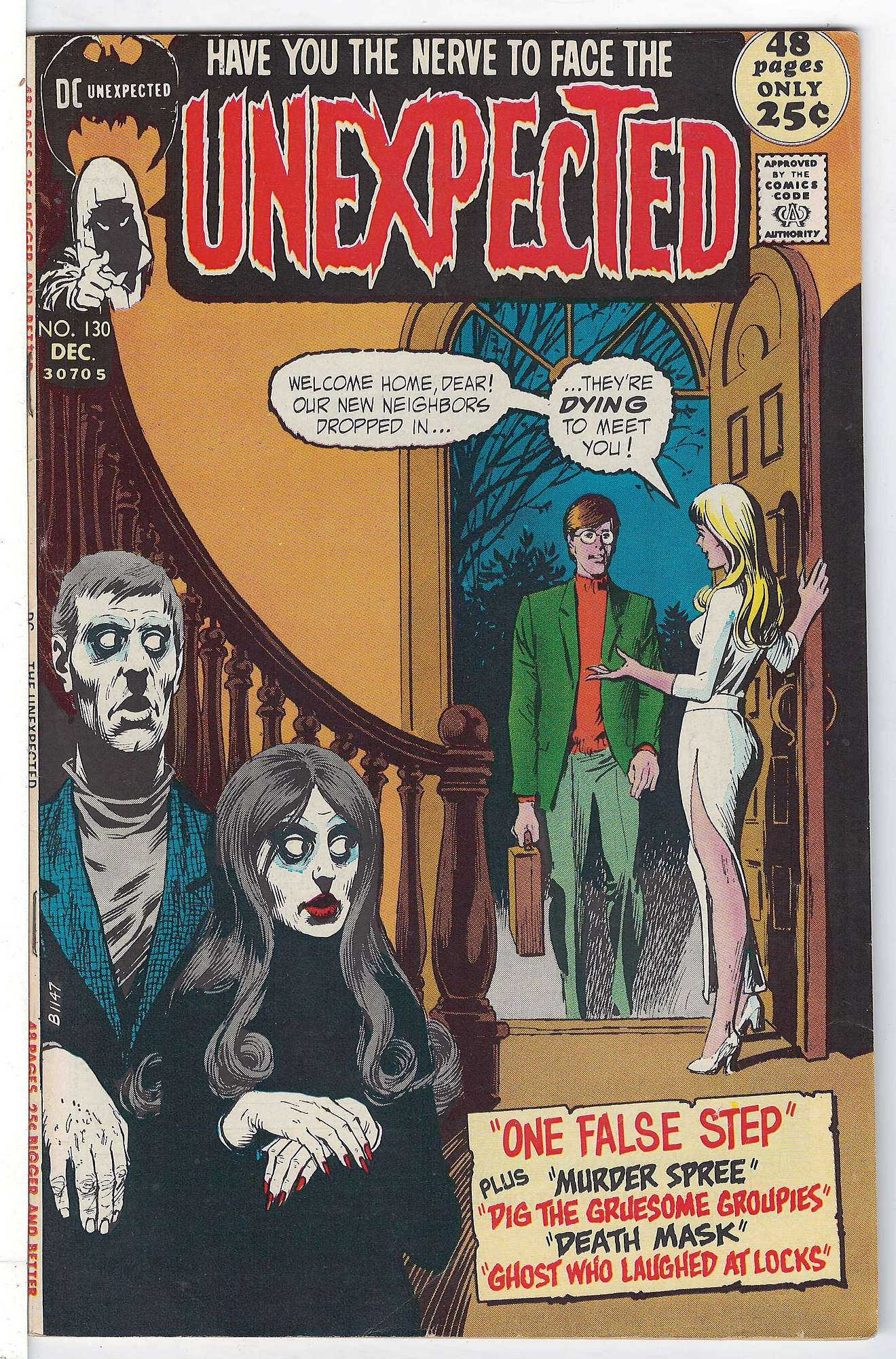 Cover of Unexpected (Vol 1) #130. One of 250,000 Vintage American Comics on sale from Krypton!