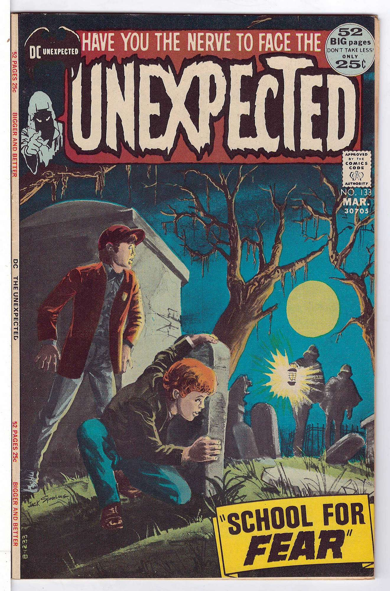 Cover of Unexpected (Vol 1) #133. One of 250,000 Vintage American Comics on sale from Krypton!