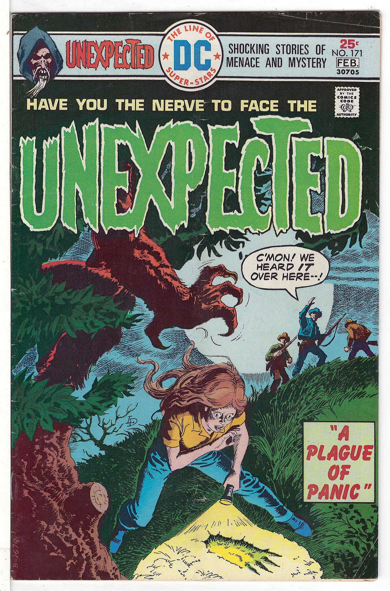 Cover of Unexpected (Vol 1) #171. One of 250,000 Vintage American Comics on sale from Krypton!