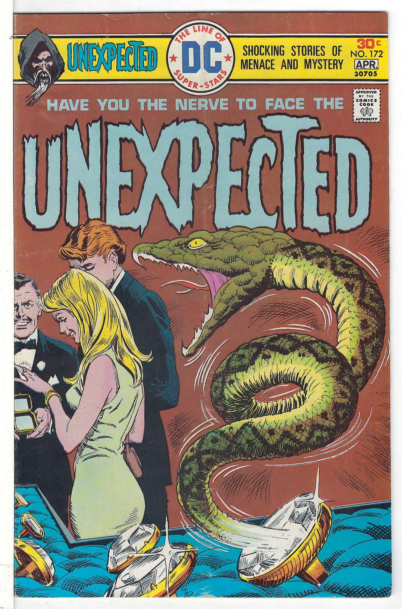 Cover of Unexpected (Vol 1) #172. One of 250,000 Vintage American Comics on sale from Krypton!