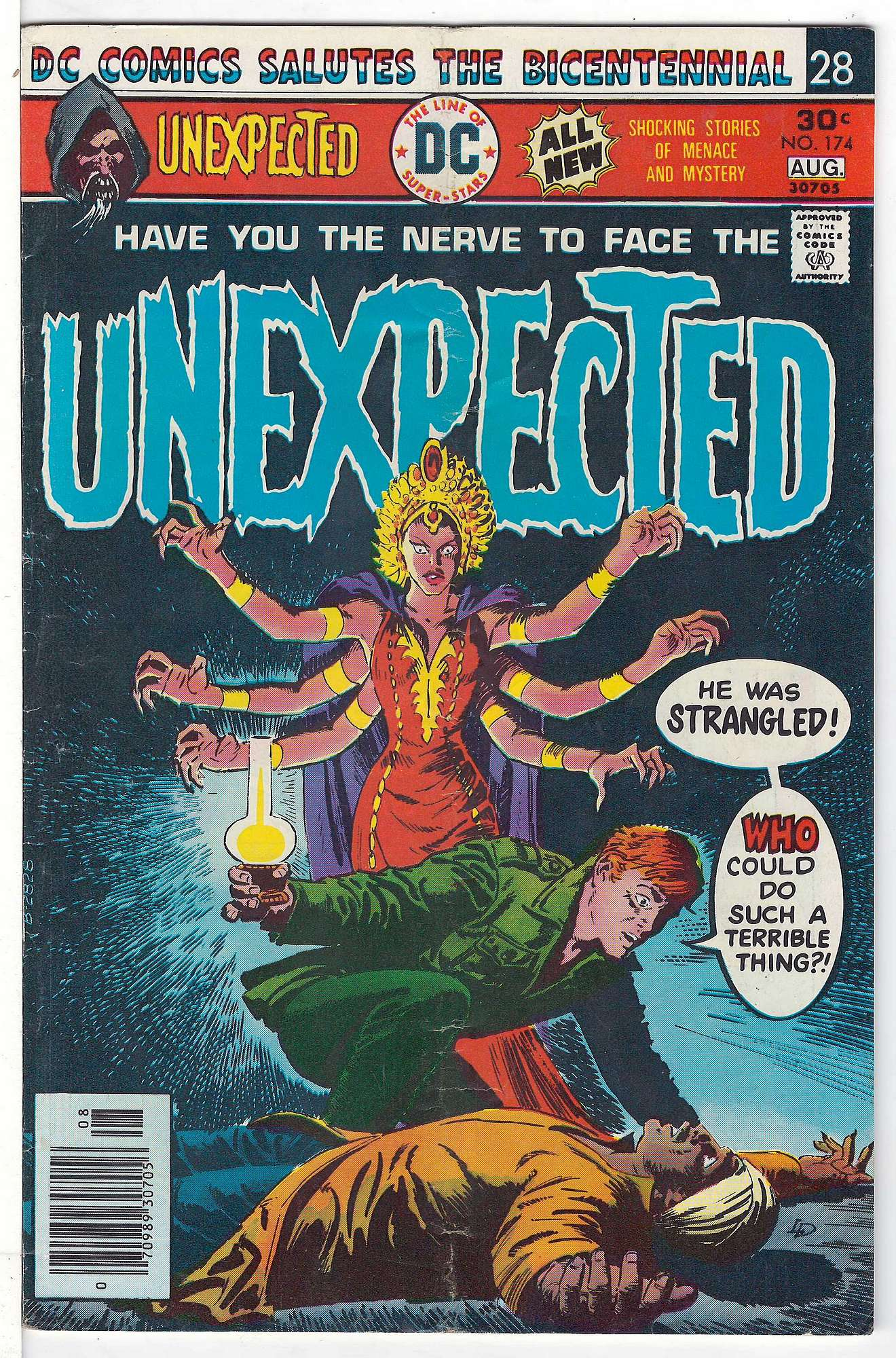 Cover of Unexpected (Vol 1) #174. One of 250,000 Vintage American Comics on sale from Krypton!
