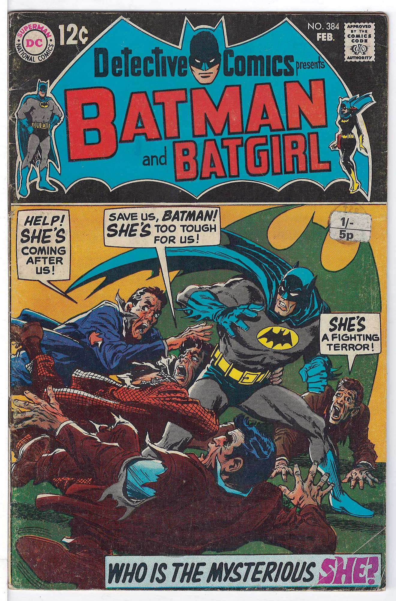 Cover of Detective Comics #384. One of 250,000 Vintage American Comics on sale from Krypton!