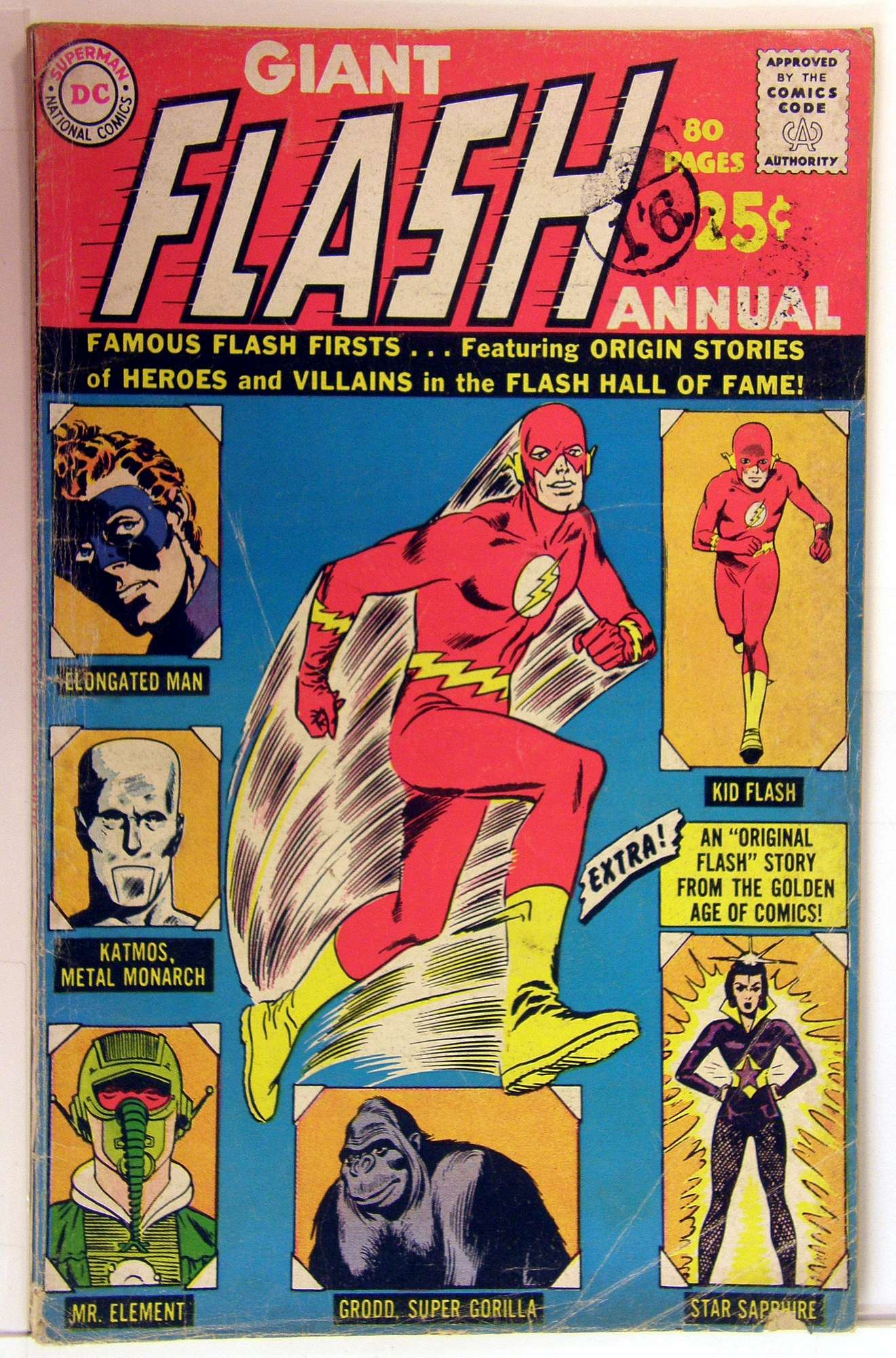 Cover of Flash Annual (Vol 1) #1. One of 250,000 Vintage American Comics on sale from Krypton!