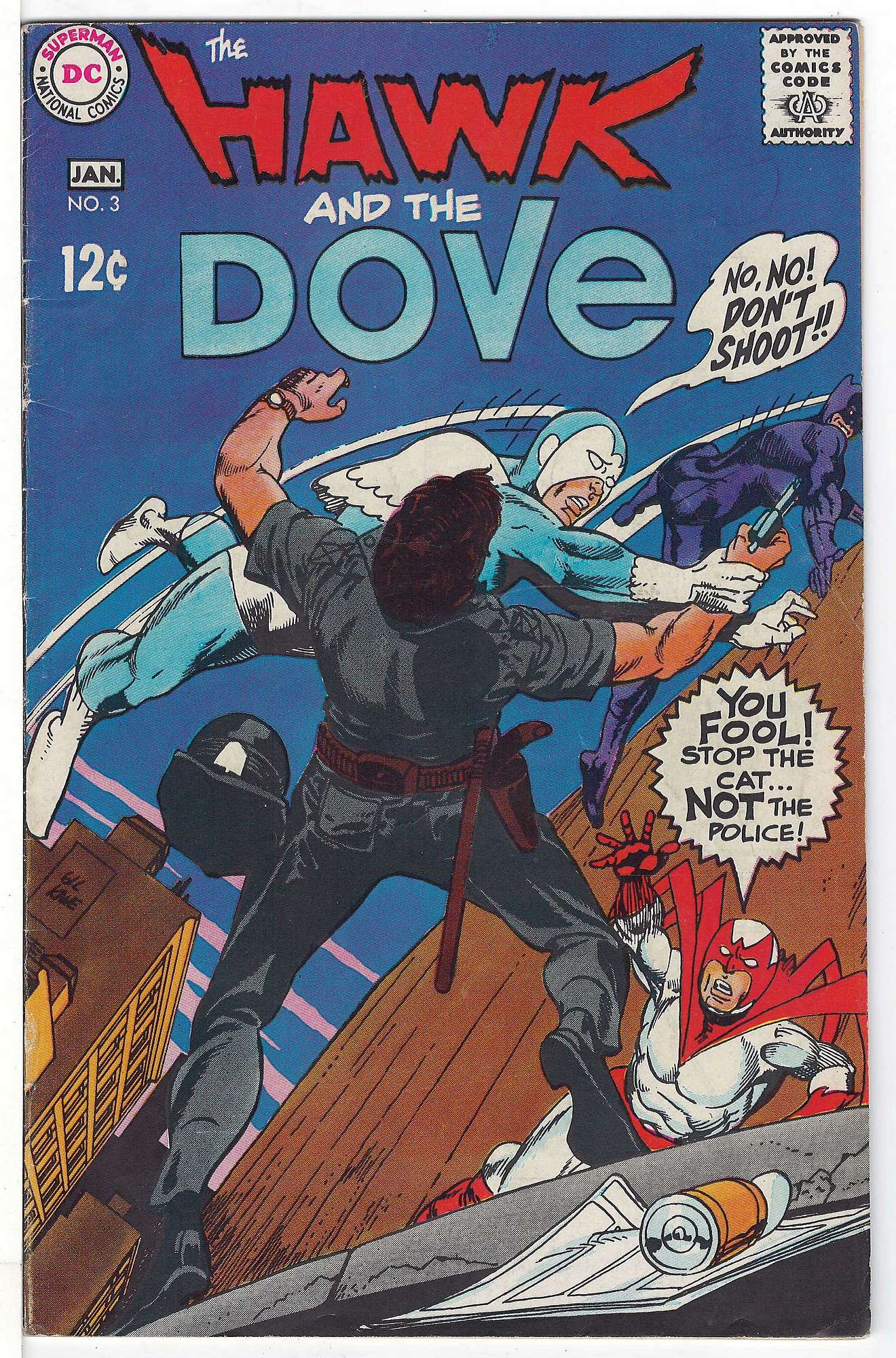 Cover of Hawk & Dove (Vol 1) The #3. One of 250,000 Vintage American Comics on sale from Krypton!