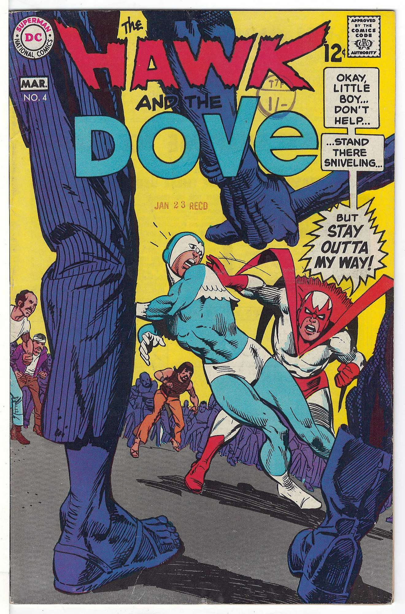Cover of Hawk & Dove (Vol 1) The #4. One of 250,000 Vintage American Comics on sale from Krypton!
