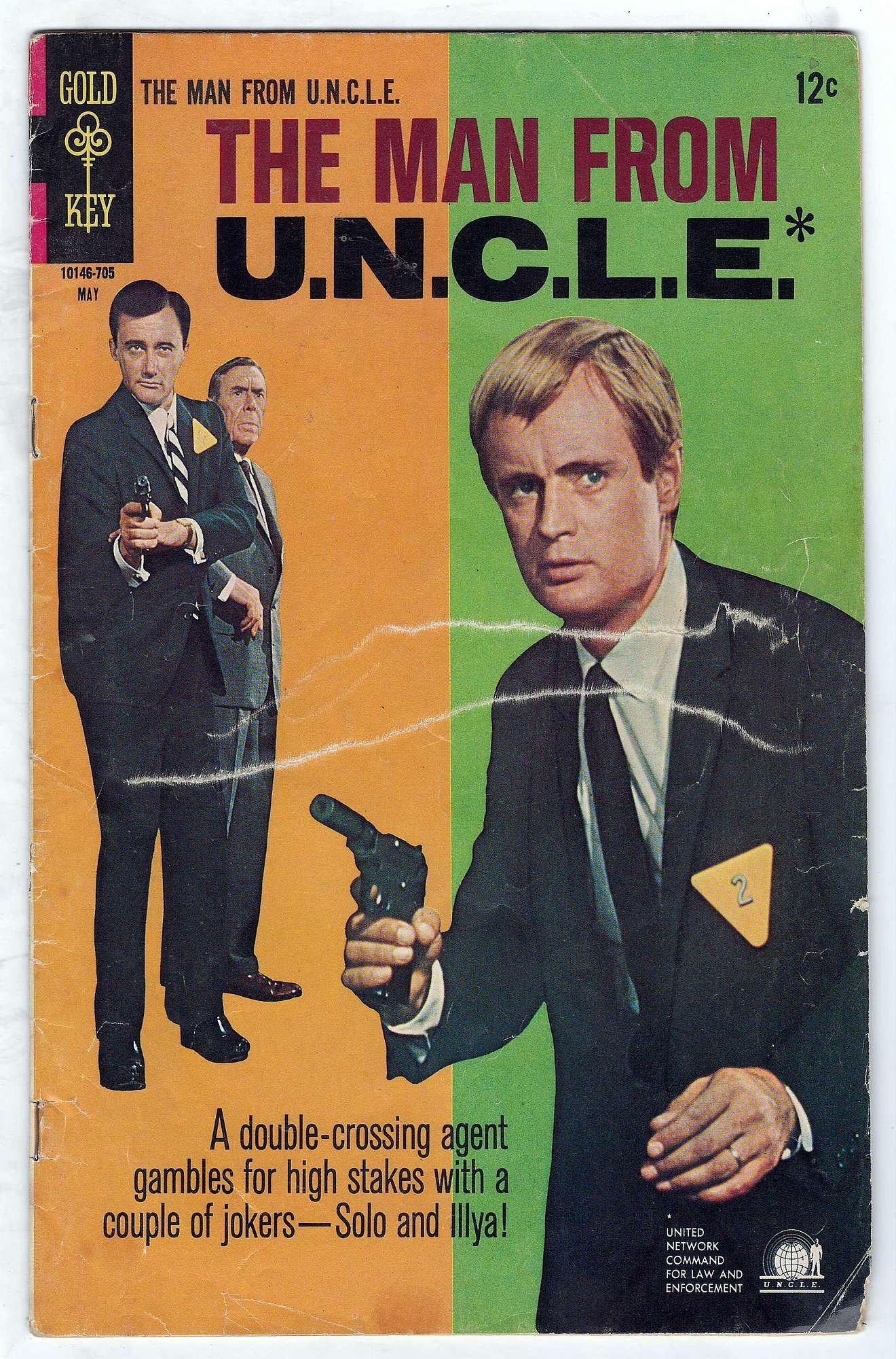 Cover of Man From U.N.C.L.E. (Vol 1) The #12. One of 250,000 Vintage American Comics on sale from Krypton!