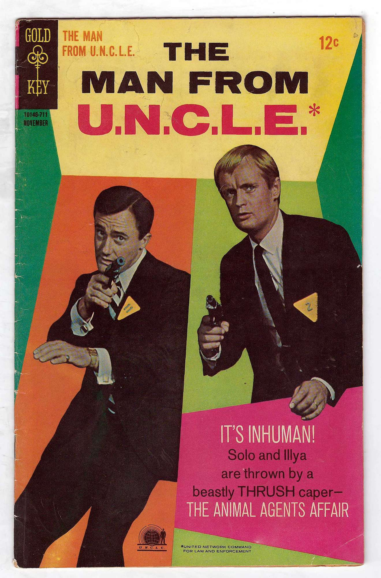 Cover of Man From U.N.C.L.E. (Vol 1) The #15. One of 250,000 Vintage American Comics on sale from Krypton!