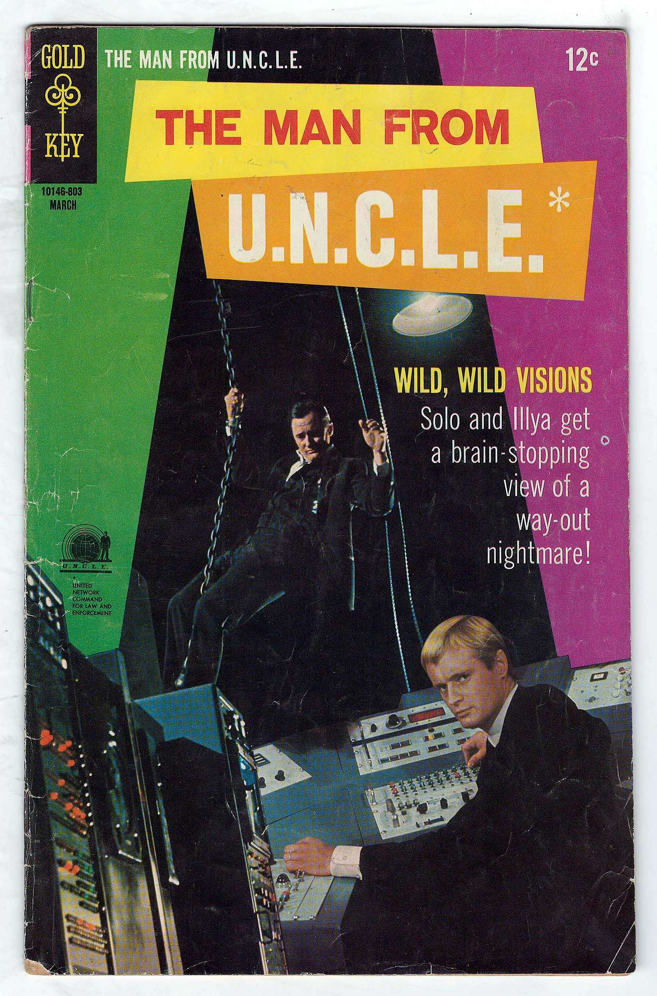 Cover of Man From U.N.C.L.E. (Vol 1) The #17. One of 250,000 Vintage American Comics on sale from Krypton!