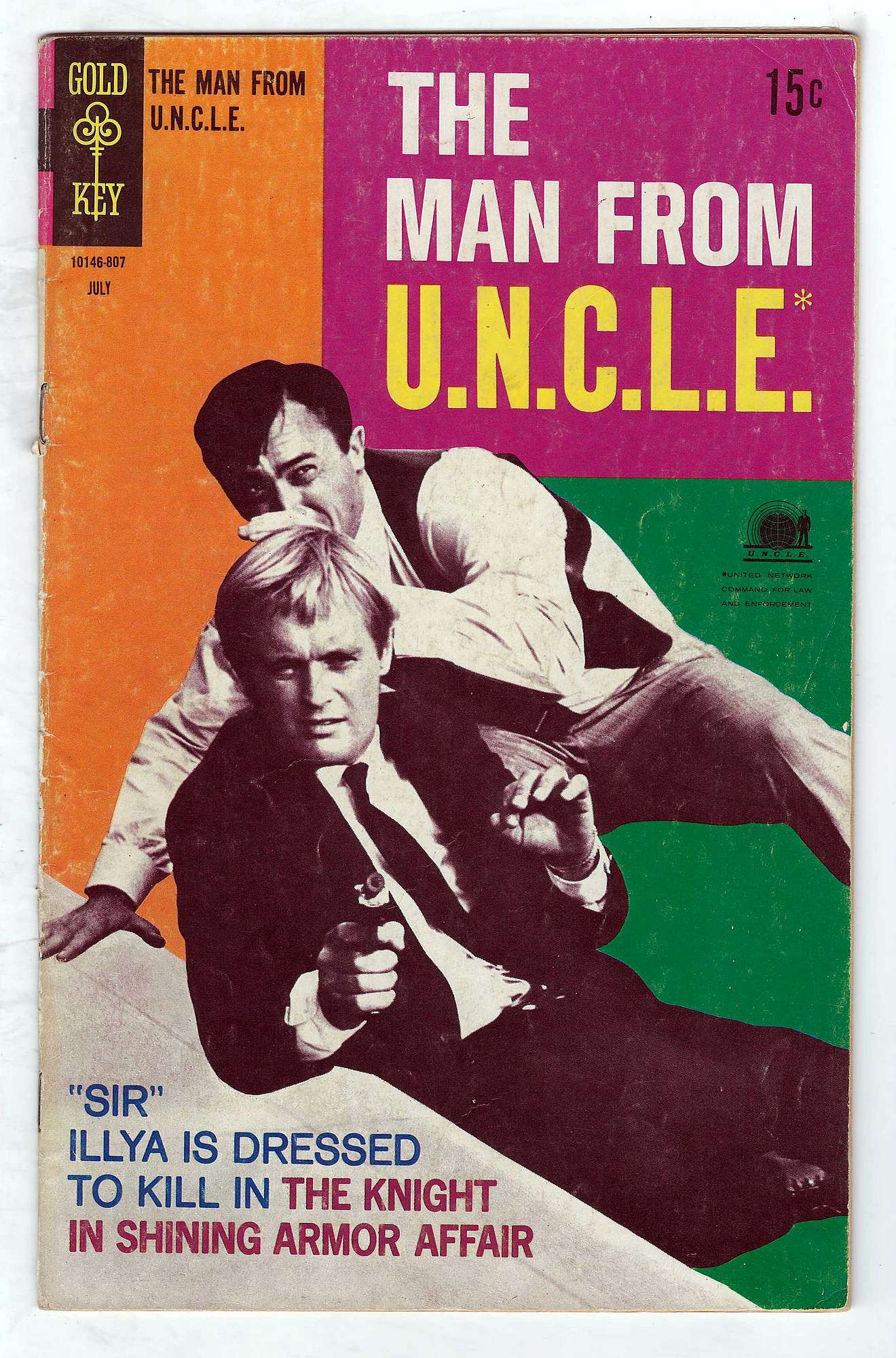 Cover of Man From U.N.C.L.E. (Vol 1) The #19. One of 250,000 Vintage American Comics on sale from Krypton!