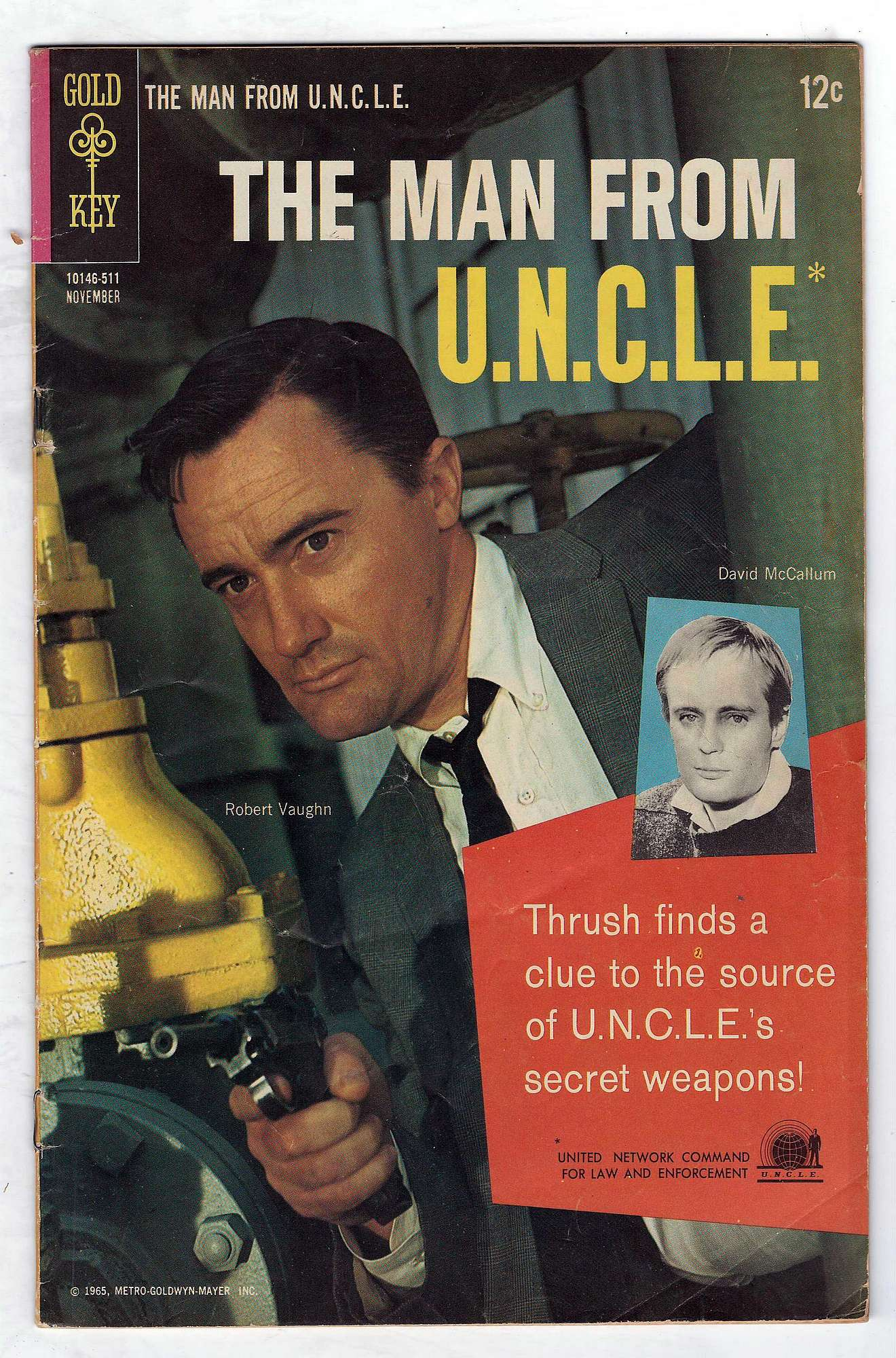 Cover of Man From U.N.C.L.E. (Vol 1) The #3. One of 250,000 Vintage American Comics on sale from Krypton!