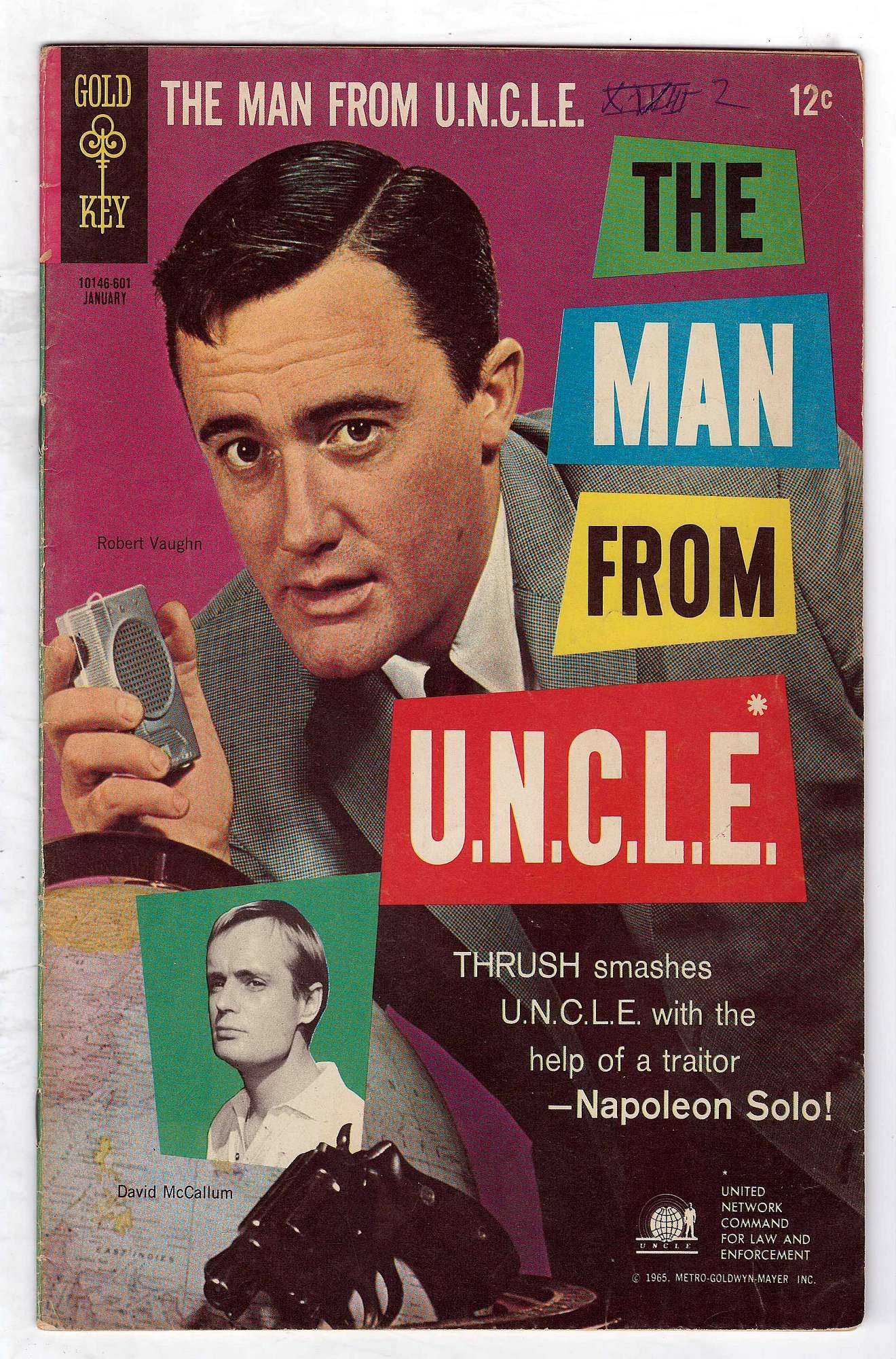Cover of Man From U.N.C.L.E. (Vol 1) The #4. One of 250,000 Vintage American Comics on sale from Krypton!