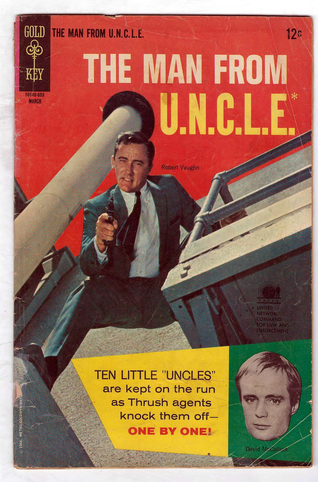 Cover of Man From U.N.C.L.E. (Vol 1) The #5. One of 250,000 Vintage American Comics on sale from Krypton!