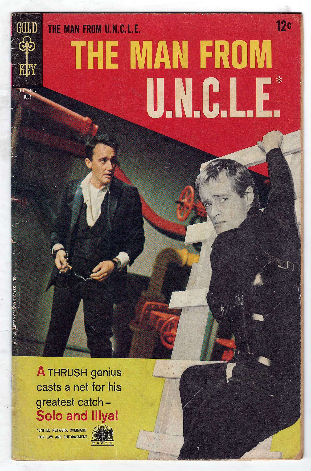 Cover of Man From U.N.C.L.E. (Vol 1) The #7. One of 250,000 Vintage American Comics on sale from Krypton!