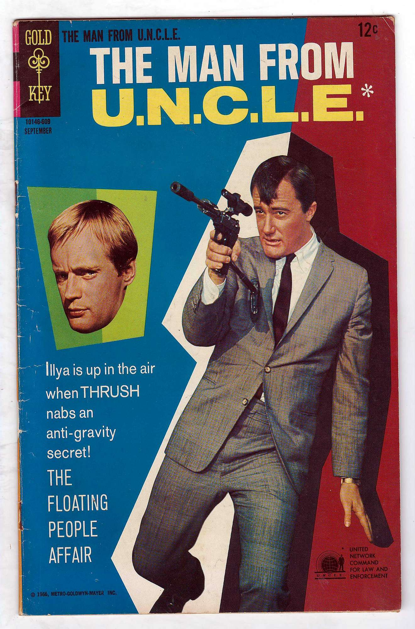 Cover of Man From U.N.C.L.E. (Vol 1) The #8. One of 250,000 Vintage American Comics on sale from Krypton!