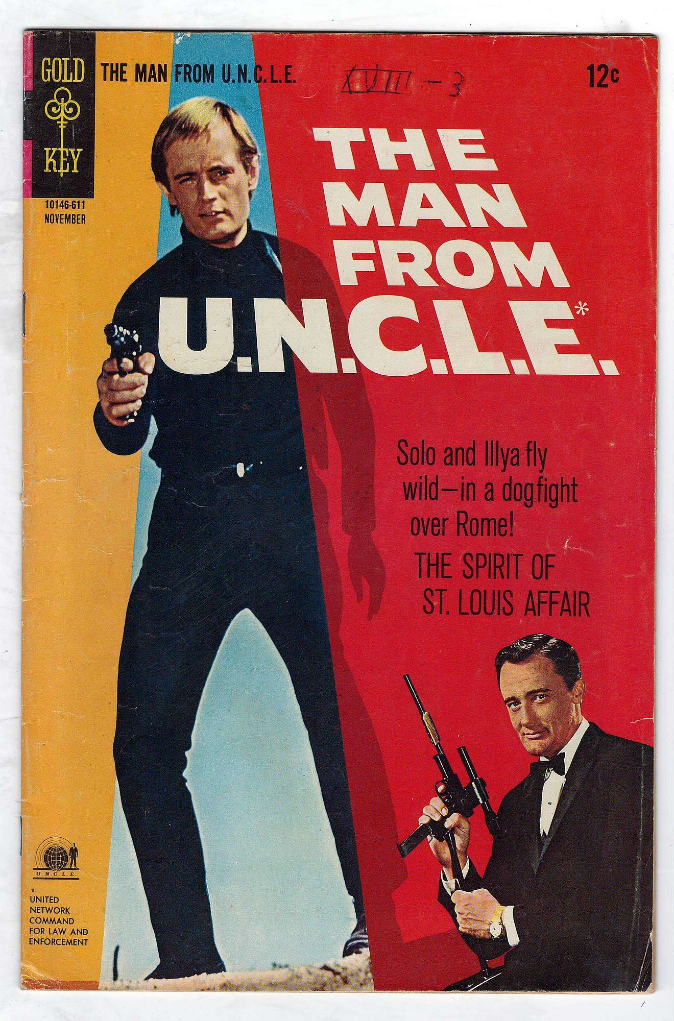 Cover of Man From U.N.C.L.E. (Vol 1) The #9. One of 250,000 Vintage American Comics on sale from Krypton!