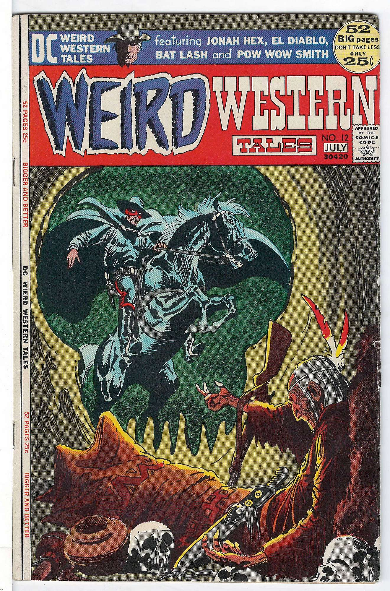 Cover of Weird Western Tales (Vol 1) #12. One of 250,000 Vintage American Comics on sale from Krypton!