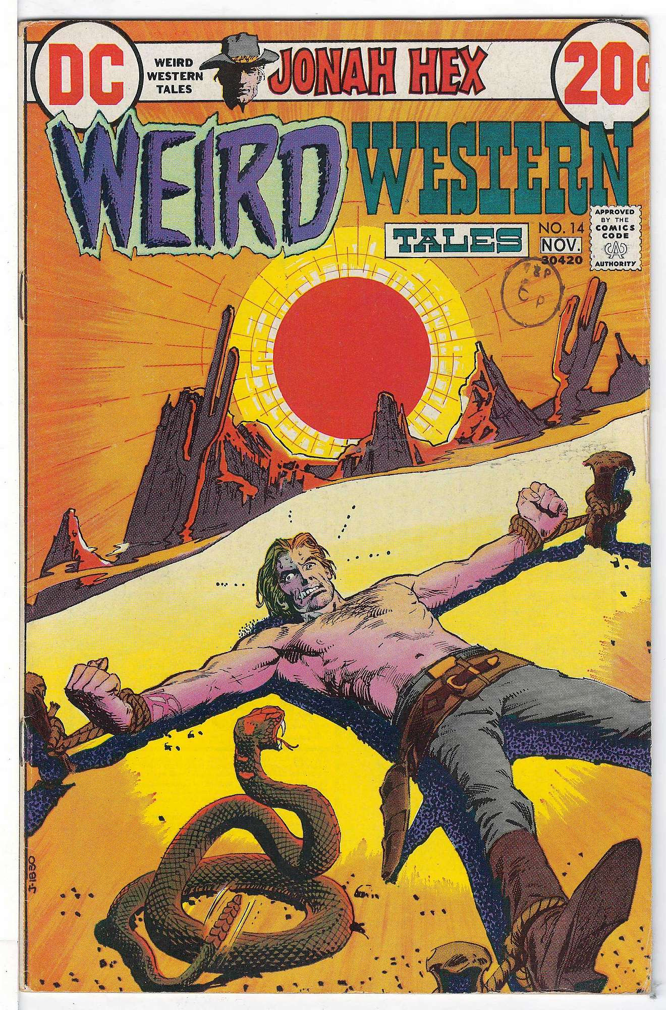 Cover of Weird Western Tales (Vol 1) #14. One of 250,000 Vintage American Comics on sale from Krypton!
