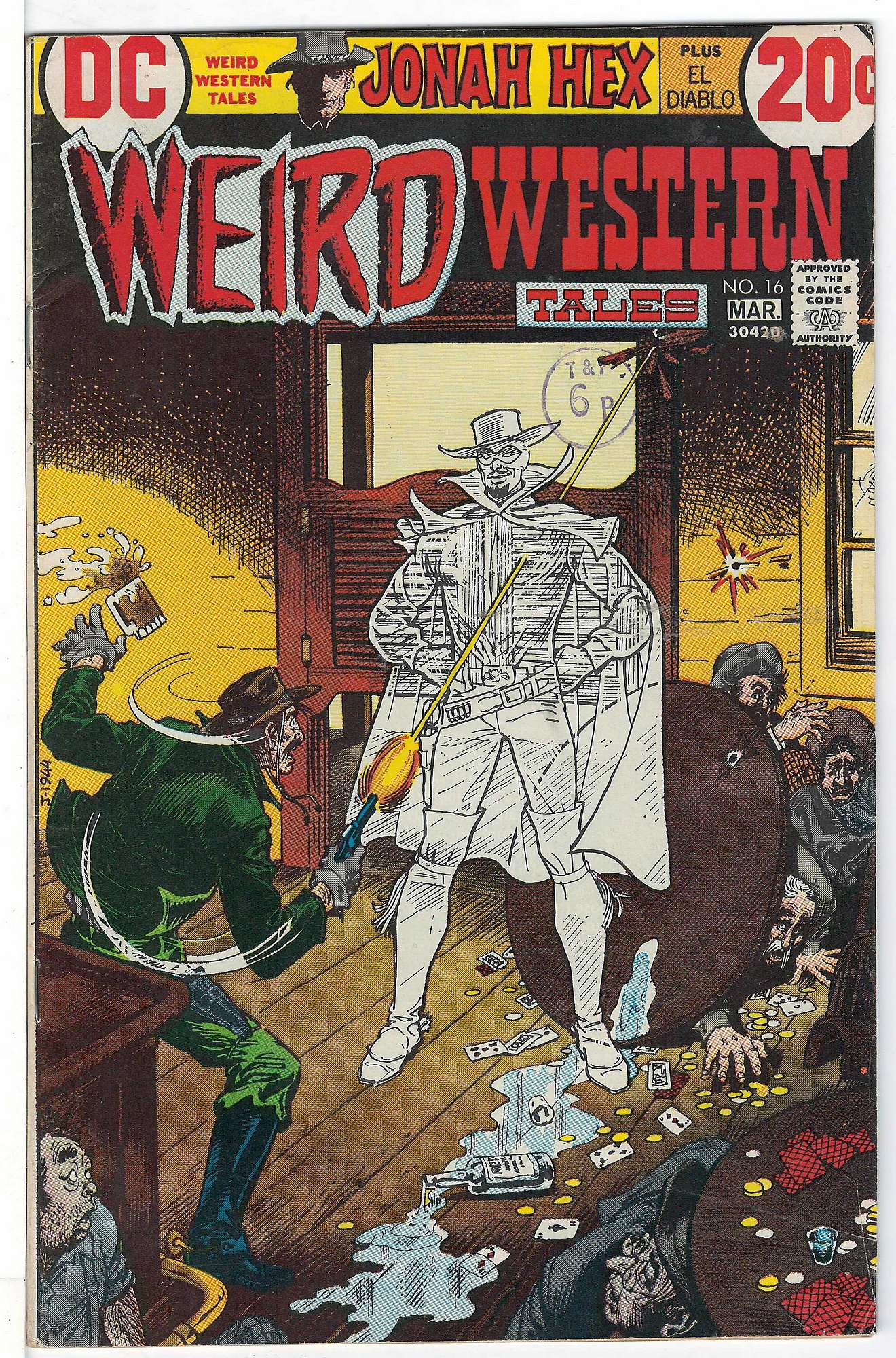 Cover of Weird Western Tales (Vol 1) #16. One of 250,000 Vintage American Comics on sale from Krypton!