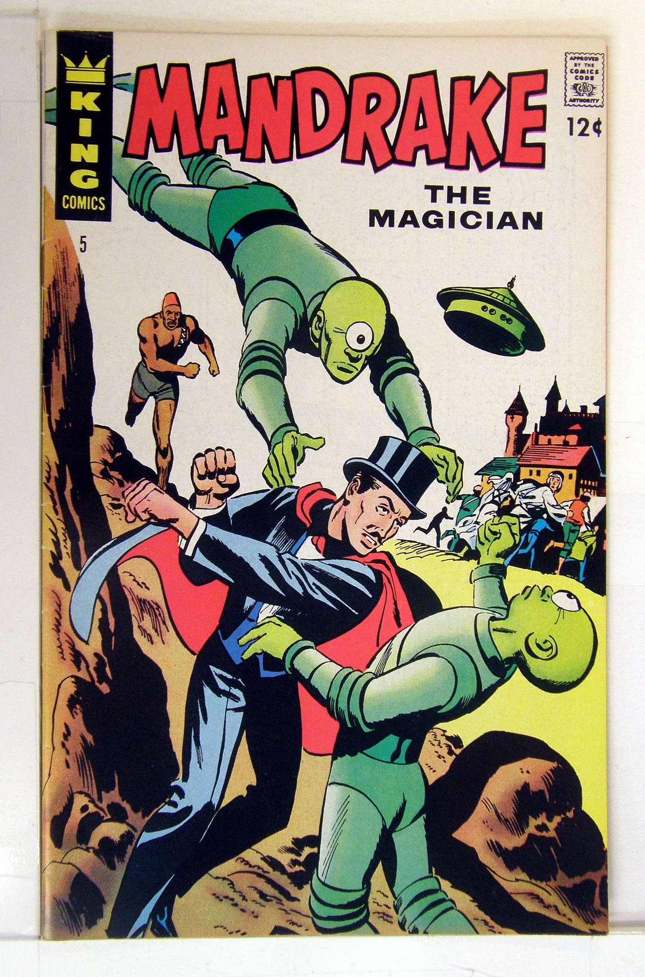 Cover of Mandrake (King Comics) #5. One of 250,000 Vintage American Comics on sale from Krypton!