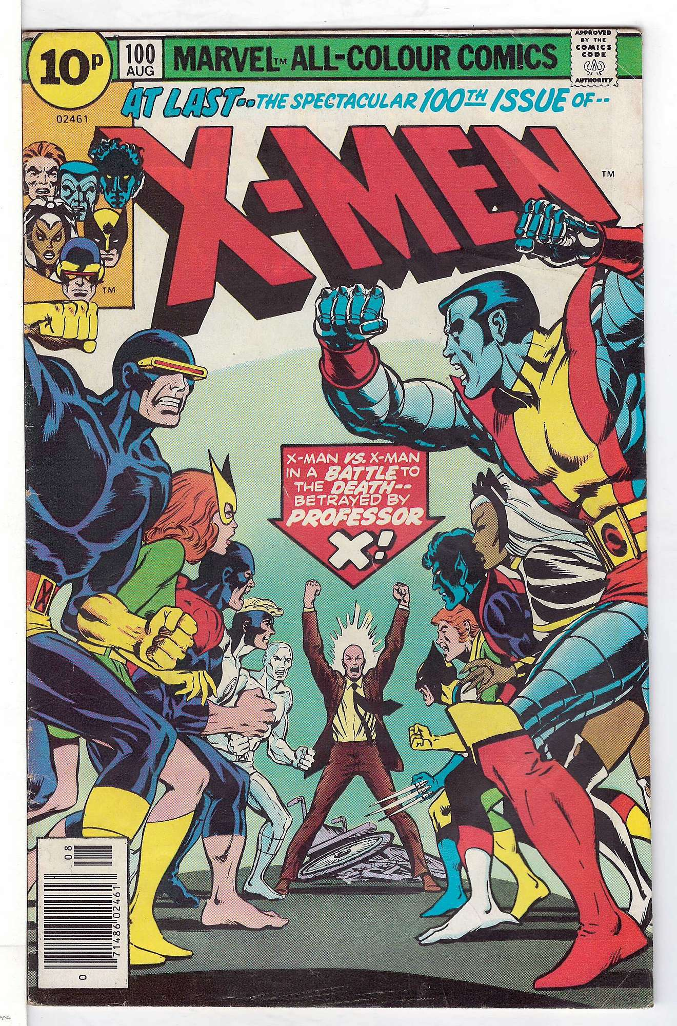Cover of Uncanny X-Men (Vol 1) #100. One of 250,000 Vintage American Comics on sale from Krypton!