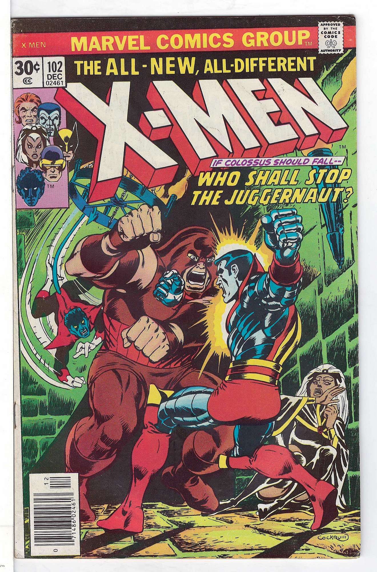 Cover of Uncanny X-Men (Vol 1) #102. One of 250,000 Vintage American Comics on sale from Krypton!