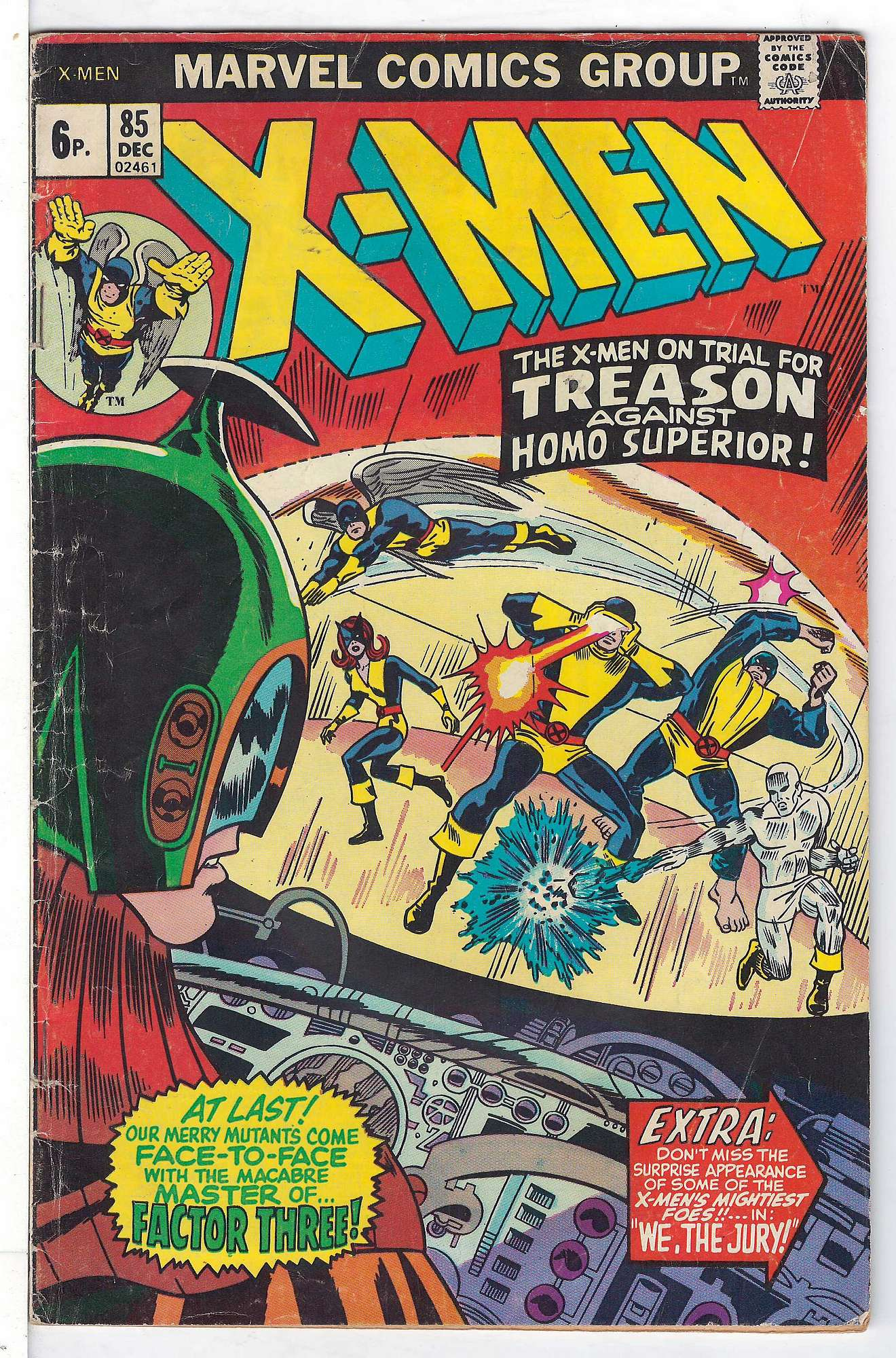 Cover of Uncanny X-Men (Vol 1) #85. One of 250,000 Vintage American Comics on sale from Krypton!